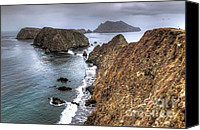 Inspiration Point Canvas Prints - Inspiration Point - Anacapa Island Canvas Print by Eddie Yerkish