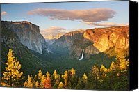 Inspiration Point Canvas Prints - Inspiration Point Yosemite Canvas Print by Brian Ernst