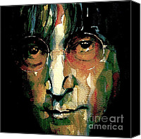 Icon Painting Canvas Prints - Instant Karma Canvas Print by Paul Lovering