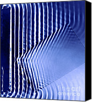 Interference Canvas Prints - Interference Waves Canvas Print by Berenice Abbott