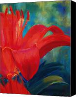 Loveland Canvas Prints - Intimate Lilly Canvas Print by Billie Colson