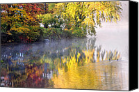 Morning Canvas Prints - Into the mist Canvas Print by Bill  Wakeley