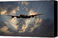 Raf Canvas Prints - Into the Night Canvas Print by Pat Speirs