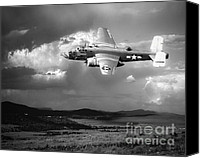 Arne J Hansen Canvas Prints - Into The Storm Canvas Print by Arne Hansen