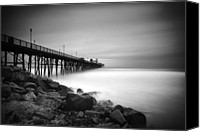 Pier Canvas Prints - Into the Void Canvas Print by Larry Marshall