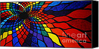 Chromatic Canvas Prints - Into the Void Canvas Print by Sean Ward