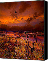 Fall Leaves Canvas Prints - Intuition Canvas Print by Phil Koch