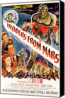1953 Movies Canvas Prints - Invaders From Mars, Jimmy Hunt, Arthur Canvas Print by Everett