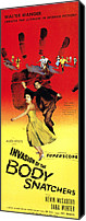 1950s Movies Canvas Prints - Invasion Of The Body Snatchers, Center Canvas Print by Everett