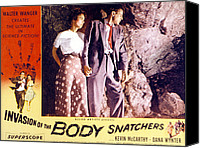Films By Don Siegel Canvas Prints - Invasion Of The Body Snatchers, Dana Canvas Print by Everett