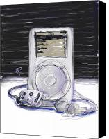 Ipod Canvas Prints - iPod Canvas Print by Russell Pierce