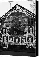 Martyrs Canvas Prints - Ira Wall Mural Belfast Canvas Print by Joe Fox