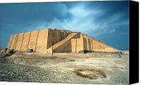 Iraq Canvas Prints - Iraq: Ziggurat In Ur Canvas Print by Granger