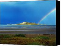 Stormy Canvas Prints - Irelands Eye, Howth, Co Dublin, Ireland Canvas Print by The Irish Image Collection