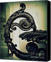 Potography Canvas Prints - Iron Details Canvas Print by Perry Webster