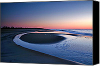 Assateague Canvas Prints - Island In The Surf VII Canvas Print by Steven Ainsworth