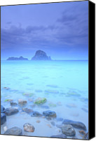 Cloud Glass Canvas Prints - Island Canvas Print by Oscar Gonzalez