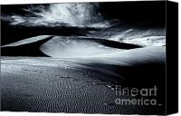 Coral Pink Sand Dunes Canvas Prints - Isolation - Selenium Canvas Print by Hideaki Sakurai