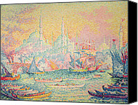 Signac Canvas Prints - Istanbul Canvas Print by Paul Signac