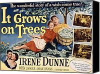Fid Canvas Prints - It Grows On Trees, Irene Dunne, Dean Canvas Print by Everett