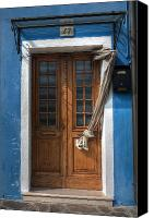 Door Canvas Prints - Italy old door Canvas Print by Joana Kruse