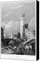1833 Canvas Prints - Italy: Padua, 1833 Canvas Print by Granger