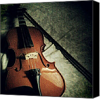 Violin Canvas Prints - Its Been A While Love. :) #violin Canvas Print by Ezrah  Panganiban