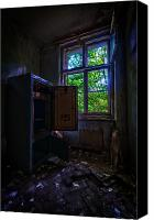 Haunted House Canvas Prints - Its empty Canvas Print by Nathan Wright