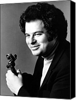 1980s Canvas Prints - Itzhak Perlman, Ca. 1980s Canvas Print by Everett