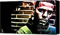 Cole Canvas Prints - J Cole Canvas Print by The DigArtisT
