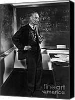 Important Canvas Prints - J. Robert Oppenheimer, American Canvas Print by Science Source
