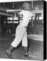 Accolade Canvas Prints - Jackie Robinson, African-american Canvas Print by Science Source