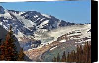 Continental Divide Canvas Prints - Jackson Glacier - Glacier National Park MT Canvas Print by Christine Till