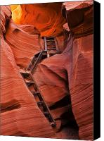 Antelope Canvas Prints - Jacobs Ladder Canvas Print by Mike  Dawson