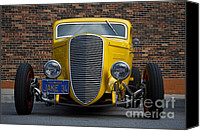 Custom Automobile Canvas Prints - Jakes 34 Canvas Print by Dennis Hedberg