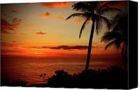 Tropical Photographs Canvas Prints - Jamaican Sunset Canvas Print by Kamil Swiatek