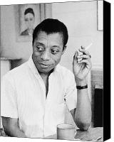 Baldwin Canvas Prints - James Baldwin (1924-1987) Canvas Print by Granger