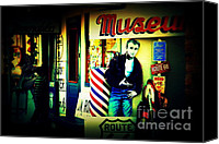Got Canvas Prints - James Dean on Route 66 Canvas Print by Susanne Van Hulst