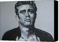 Dean Canvas Prints - James Dean one Canvas Print by Eric Dee