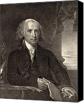 James Madison Canvas Prints - James Madison - fourth President of the United States of America Canvas Print by International  Images