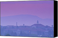 James Madison Canvas Prints - James Madison University At Dusk Canvas Print by Kenneth Garrett
