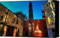 Factory Photo Canvas Prints - Jameson Distillery Canvas Print by Justin Albrecht