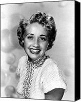 Publicity Shot Canvas Prints - Jane Powell, Mgm, 1951 Canvas Print by Everett