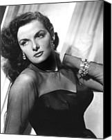 Publicity Shot Canvas Prints - Jane Russell, 1948 Canvas Print by Everett