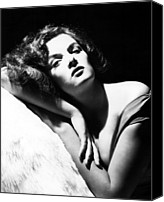 Publicity Shot Canvas Prints - Jane Russell, Ca. Early-mid 1940s Canvas Print by Everett