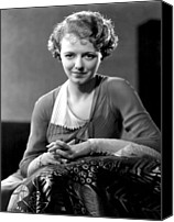 Titles Canvas Prints - Janet Gaynor, Fox Film Corp, 1932 Canvas Print by Everett