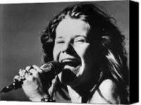 Collection Photo Canvas Prints - Janis Joplin (1943-1970) Canvas Print by Granger