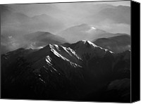 Mountain Scene Canvas Prints - Japanese Alps Canvas Print by José Rentería Cobos photography