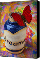 Ambition Canvas Prints - Jar of dreams Canvas Print by Garry Gay