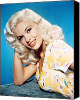 1950s Portraits Canvas Prints - Jayne Mansfield, 1950s Canvas Print by Everett